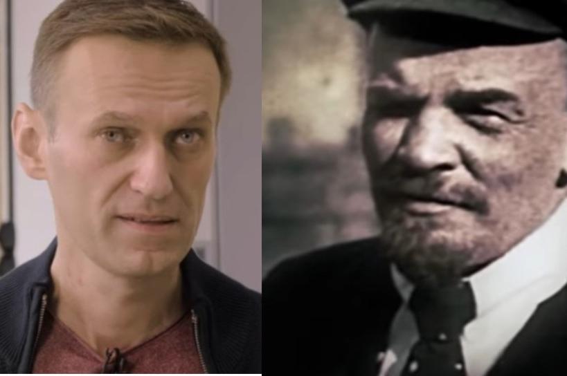 Navalnyj jako Lenin je nadějí Západu na rozbití Ruska