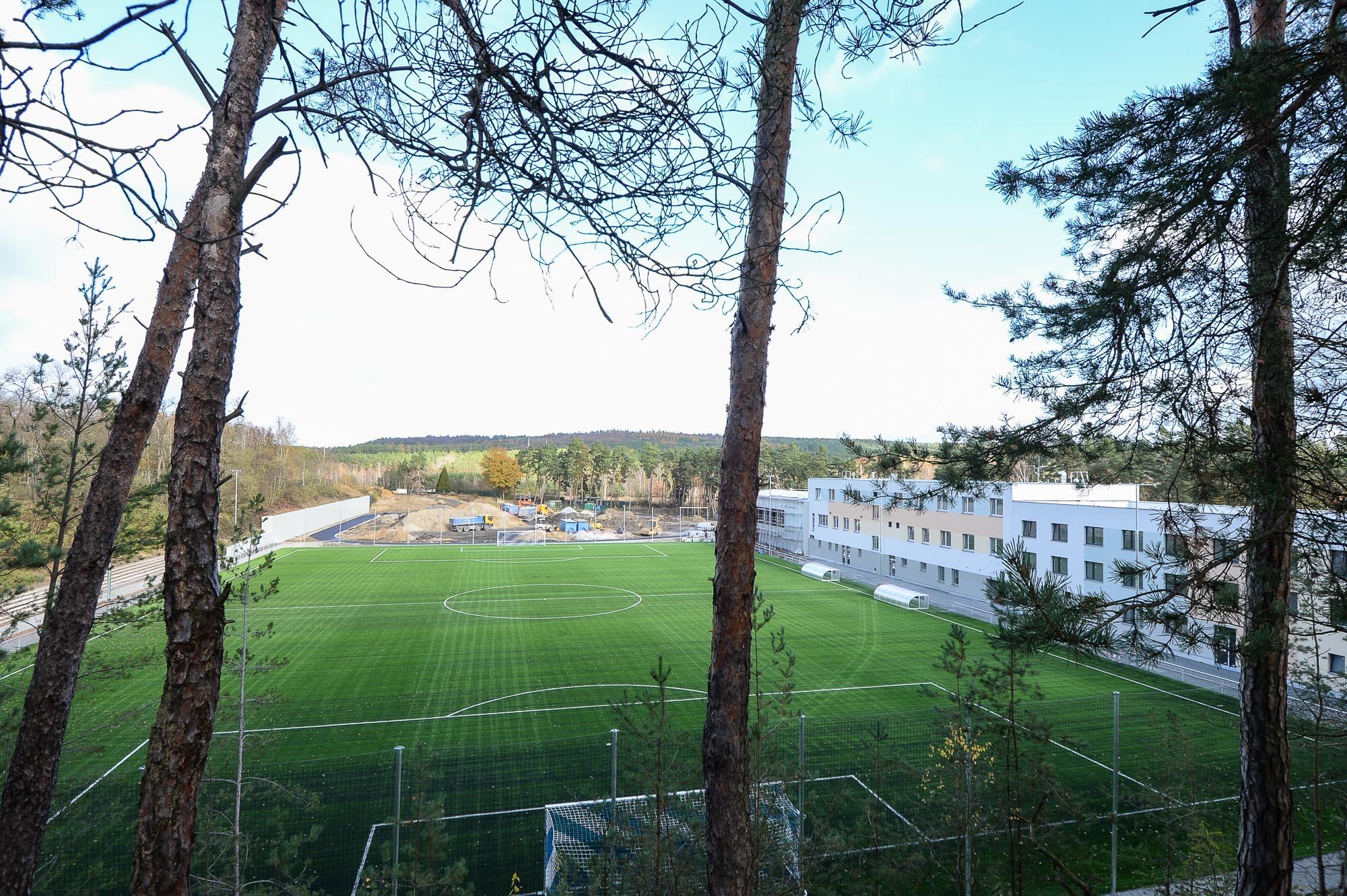 Rekonstrukce sportovního areálu Prokopávka značně pokročila